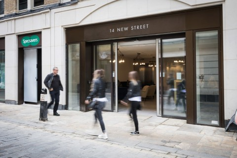 New Street, Liverpool Street, City Of London, EC2M