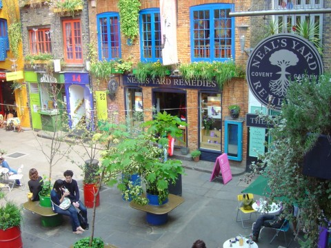 Neal's Yard, Covent Garden, WC2H 9DP